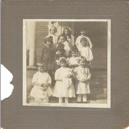 Children on Porch