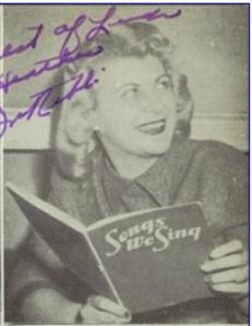 Irene Rebb WPHS 1952