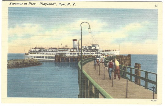 Steamer at Pier A
