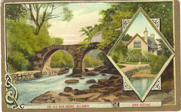 killarney postcard