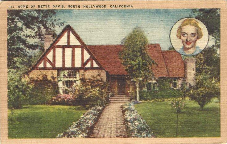 Bette Davis Postcard 1