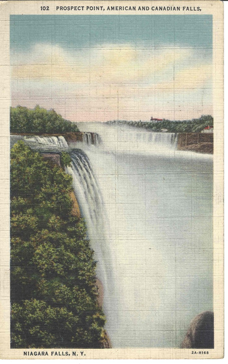 Prospect Point, American and Canadian Falls