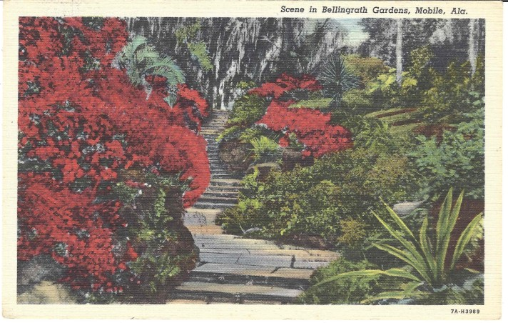 Scene in Bellingrath Gardens
