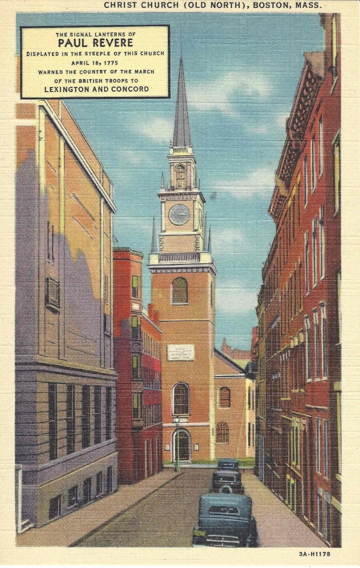 Christ Church, Boston, Mass