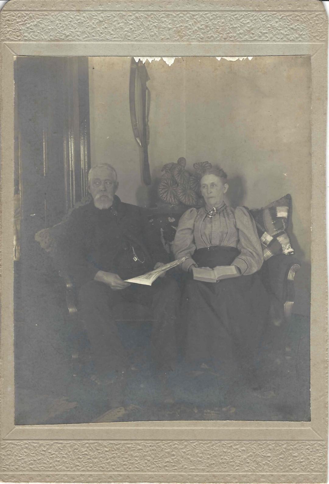 William Flansburg & Wife