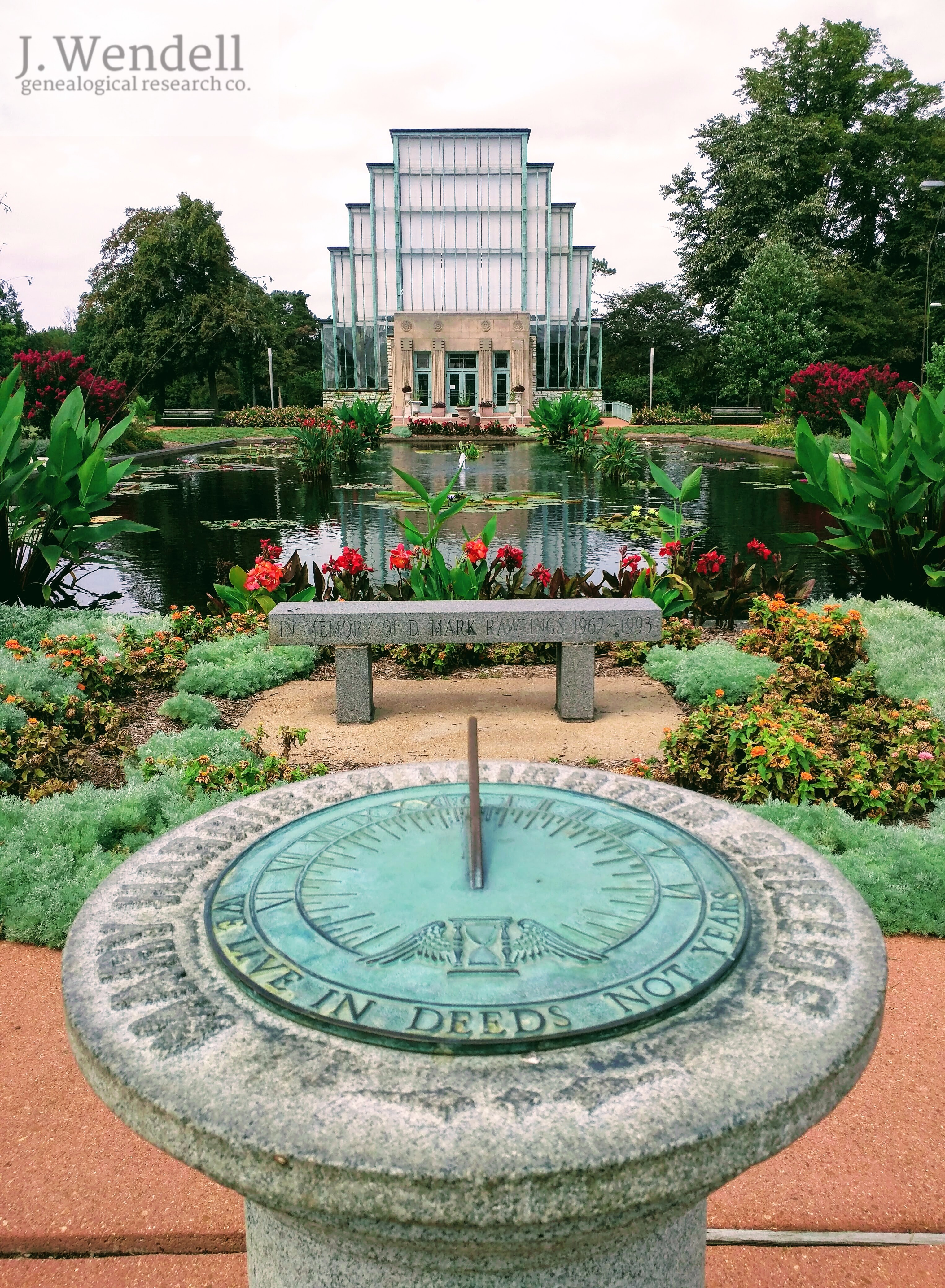 jewel box forest park st louis – j wendell genealogical